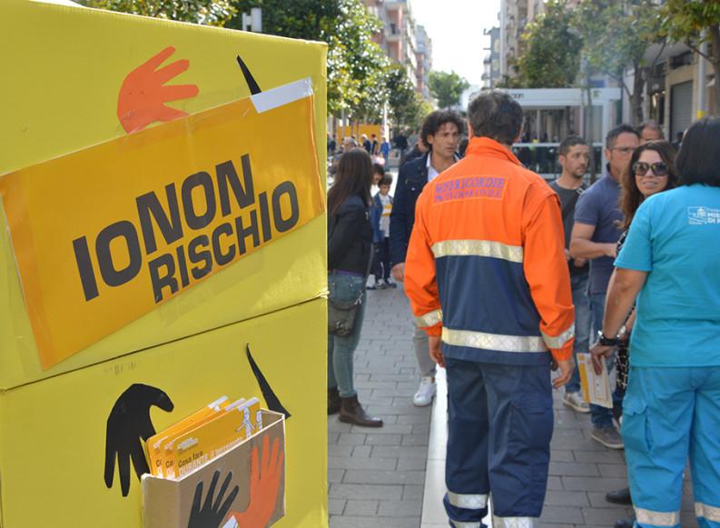 """Torna ad Andria la campagna nazionale di """"Io non rischio"""" con la Misericordia"""