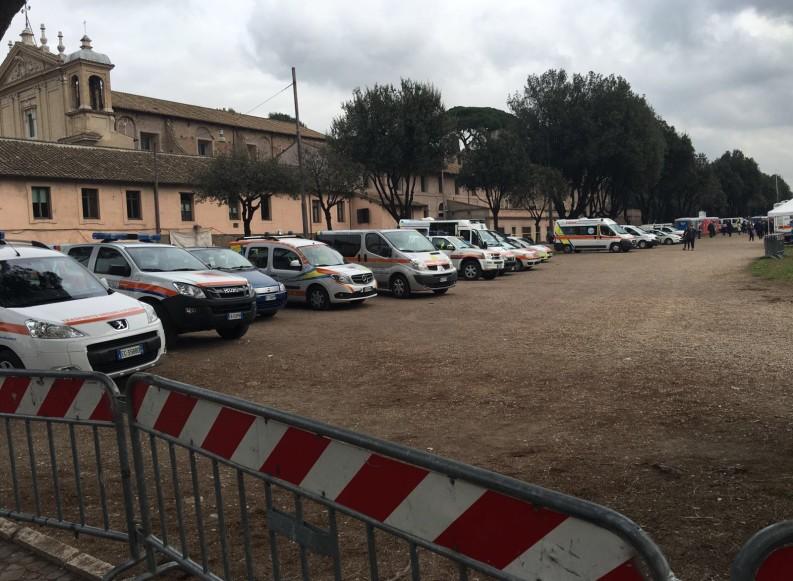 Il Posto Medico Avanzato della Misericordia di Andria al Family Day di Roma