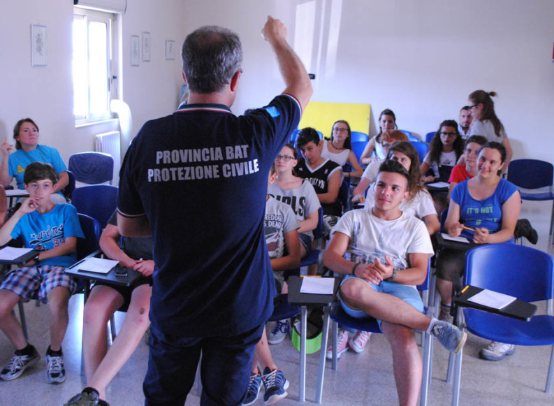 1° Campo Nazionale di Protezione Civile – Andria 2014