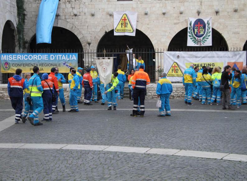 Assemblea Regionale delle Misericordie di Puglia nella Basilica di San Nicola a Bari