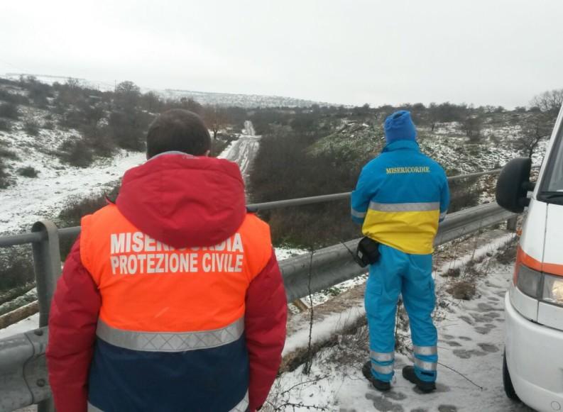 Emergenza Neve: attiva la Sala Operativa della Federazione delle Misericordie di Puglia