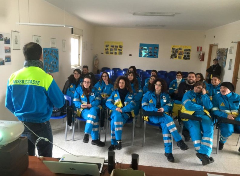 Servizio Civile, giornata dell'accoglienza per 167 giovani delle Misericordie di Puglia