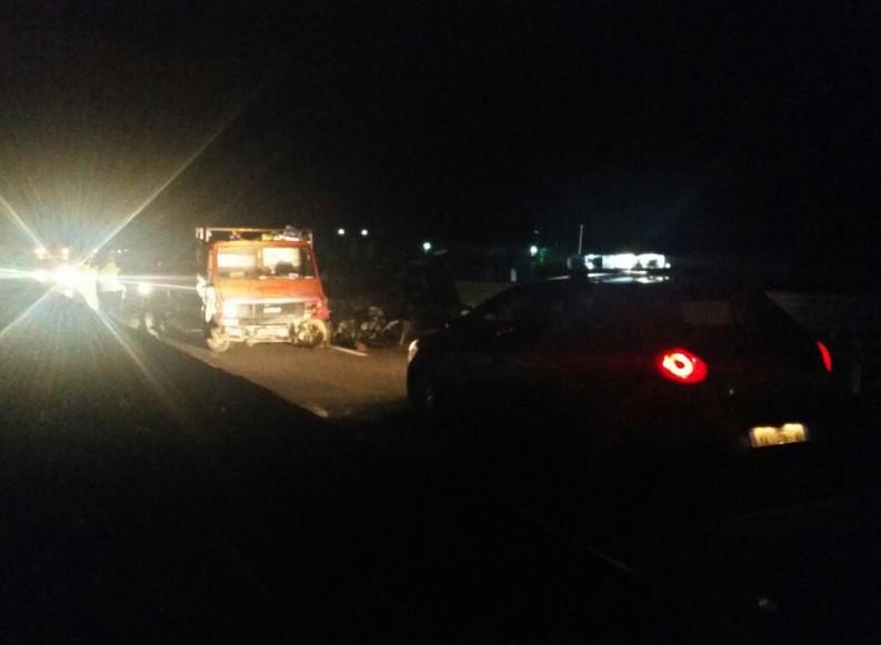 """Scontro auto-furgone sulla """"Andria-Barletta"""": due feriti"""