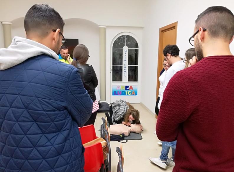In 150 per il corso gratuito di Primo Soccorso della Misericordia di Andria