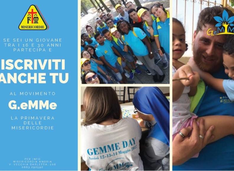 Cambia il mondo! Iscriviti al movimento giovanile G.eMMe