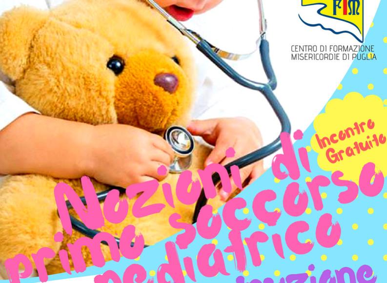 Corso di Primo Soccorso Pediatrico gratuito nella Casa della Misericordia