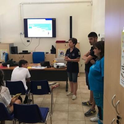 A scuola di Protezione Civile con il Campo nazionale delle Misericordie a Montegrosso
