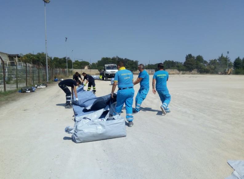 Sciame sismico in Molise: aperto un secondo campo di accoglienza a Larino
