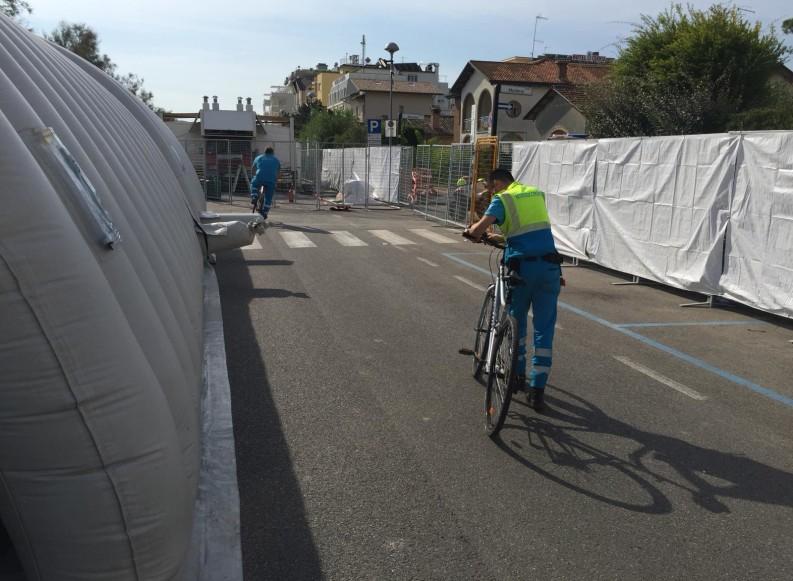 """Gare nazionali """"Ironman"""" a Cervia: impegnati volontari delle Misericordie pugliesi ed il PMA"""