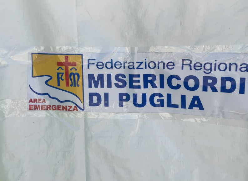 Giallociano tra la pietra bianca di Trani: concluso il 3° meeting delle Misericordie di Puglia