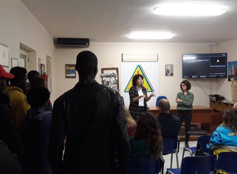 """""""Un paese di Calabria"""", anche la Misericordia di Andria ha aperto le porte al documentario che racconta Riace"""