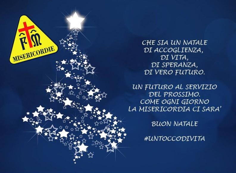 Il Buon Natale dalla Misericordia semplicemente con #untoccodivita