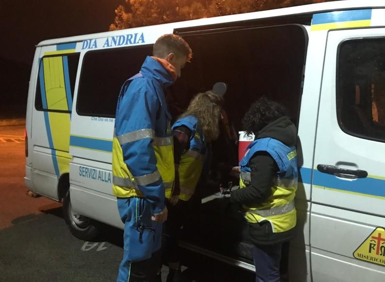 Emergenza freddo: attive sala operativa e unità di strada della Misericordia
