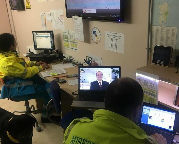 Emergenza neve, Sala Operativa Regionale delle Misericordie di Puglia attiva da ieri sera