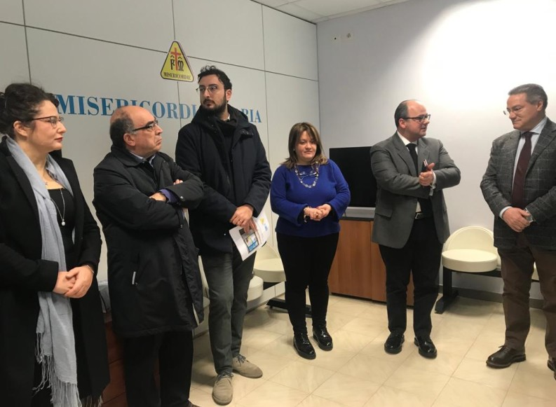 "ASL BT e Misericordia di Andria assieme per l'Ambulatorio Solidale ""Noi con Voi"""