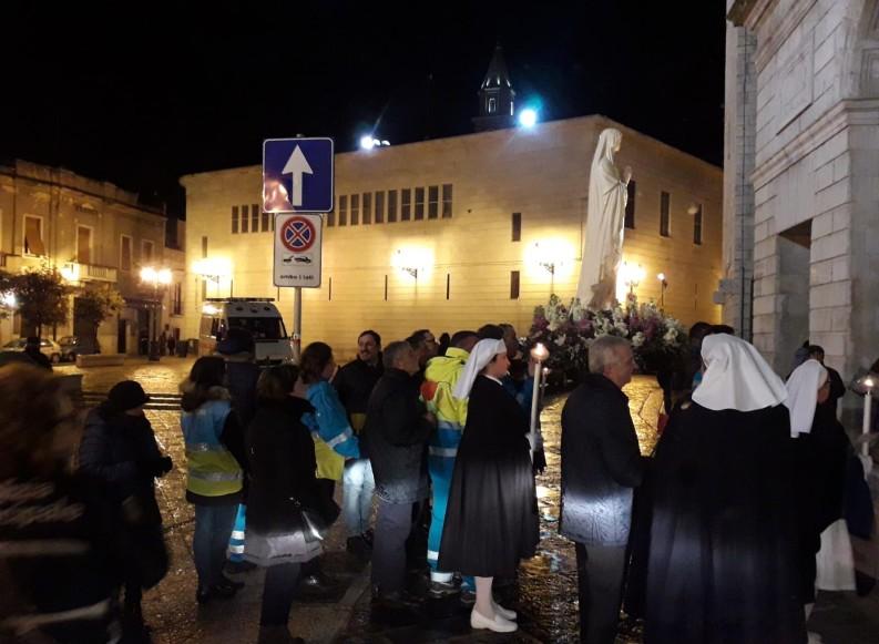 XXVII^ Giornata Mondiale del Malato, anche la Misericordia per processione ed assistenza