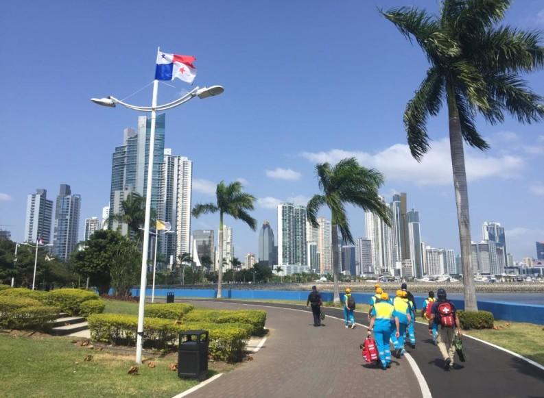 Giornata Mondiale della Gioventù, l'esperienza a Panama di Emanuele con il team di soccorso delle Misericordie