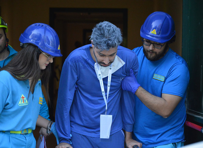 EXE Flegrei 19: oltre 50 i volontari impegnati delle Misericordie di Puglia