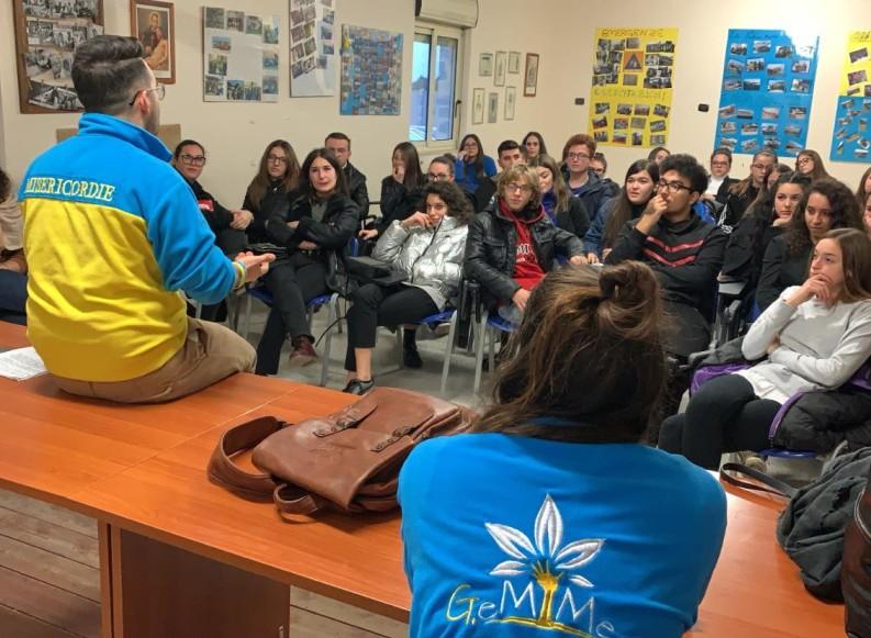 """Cresce il movimento giovanile """"G.Emme"""" della Misericordia di Andria"""