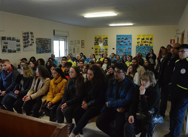 Papa Francesco a Bari, incontro formativo per i volontari soccorritori