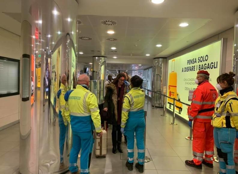 Coronavirus, anche le Misericordie di Puglia negli scali aeroportuali di Bari e Brindisi