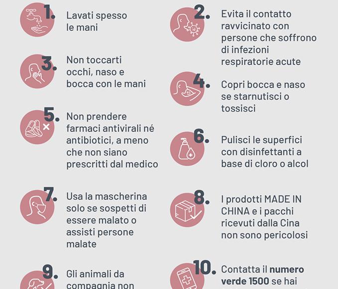 Disposizioni della Regione Puglia sull'emergenza Coronavirus