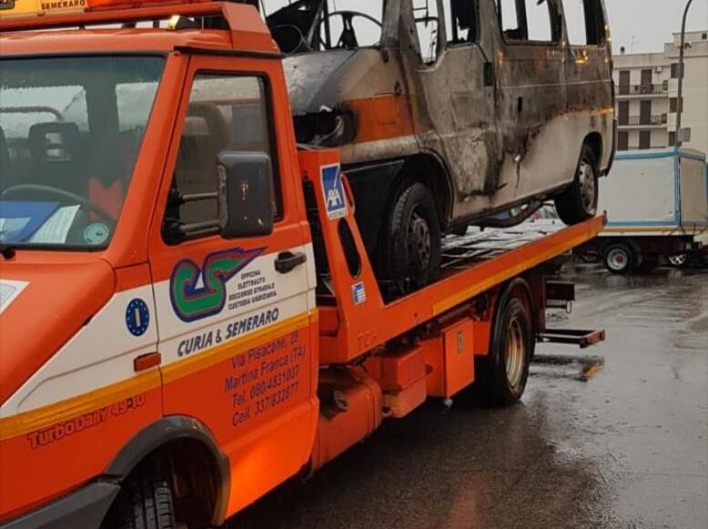 Due ambulanze bruciate della Misericordia di Martina Franca: la condanna e la solidarietà della Federazione di Puglia