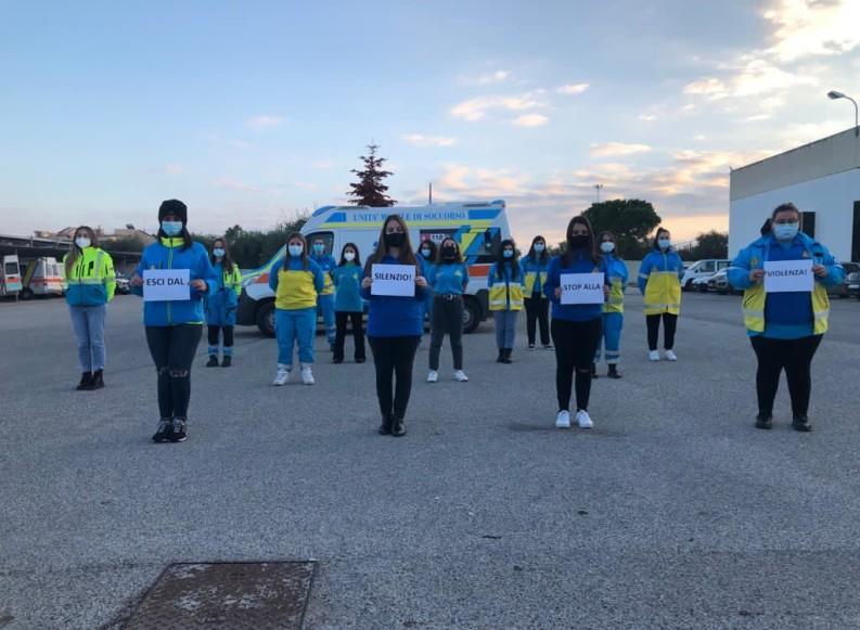 """""""Esci dal silenzio! Stop alla violenza"""": il messaggio della Misericordia di Andria per il 25 novembre"""